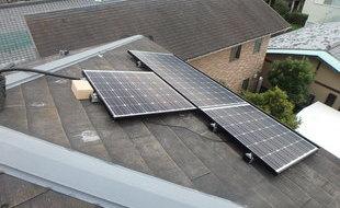 太陽光パネル取り付け